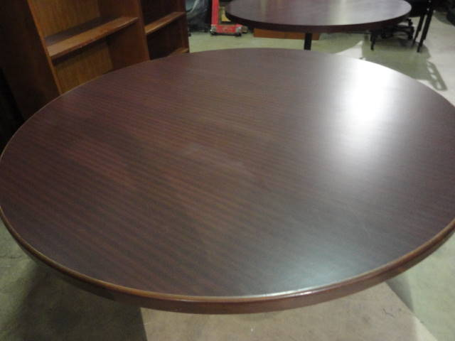 60in Diameter Round Conference Table