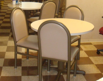 36in Diameter Breakroom Tables