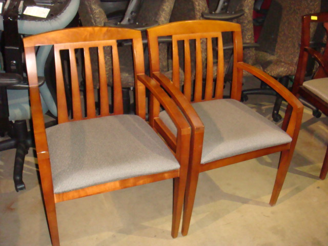 Haworth Cherry Frame Side Chair