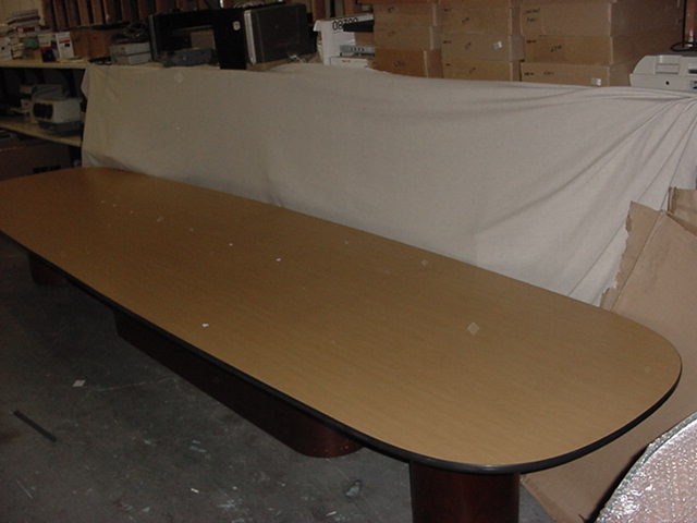 18′ X 53″ Racetrack Conference Table