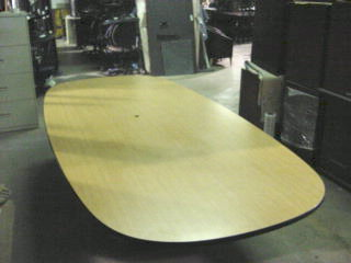 10′ X 54″ Racetrack Table