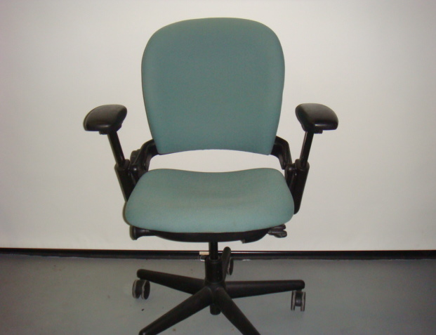 Green Steelcase Leap Chair