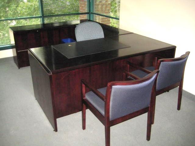 Paoli U Shape Desk W O Hutch Used Office Furniture