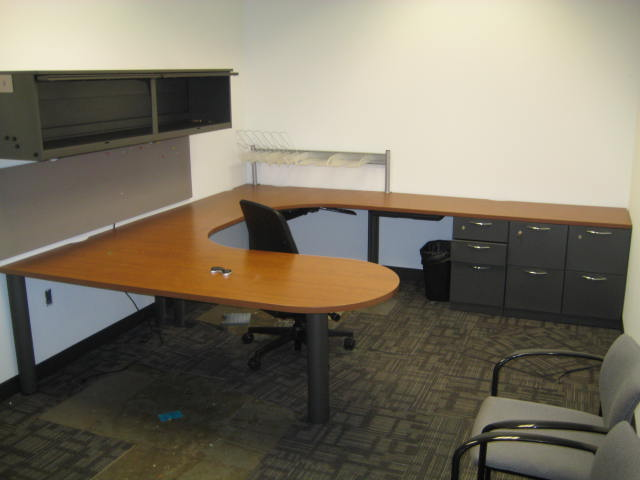 Steelcase Bullet Top U Shape Desks