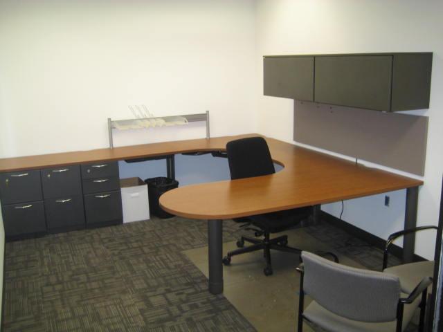 Steelcase Bullet Top U Shape Desks Used Office Furniture