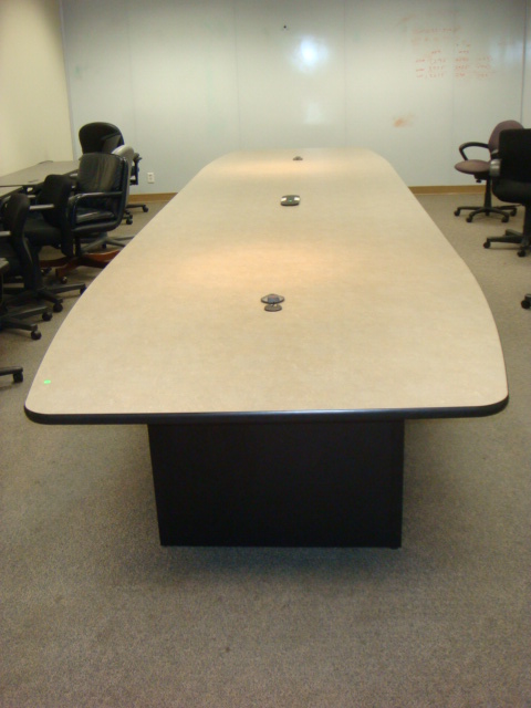 20′ X 5′ Laminate Boardroom Table
