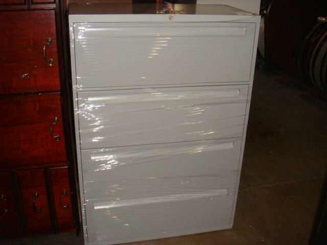 4 Drawer 36″W Laterals