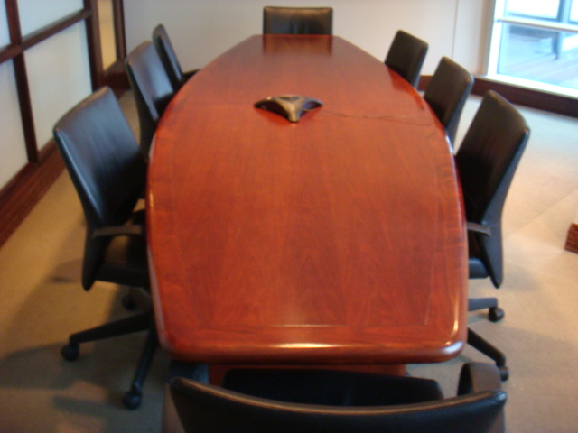12′ X 4′ Boatshape Conference Table