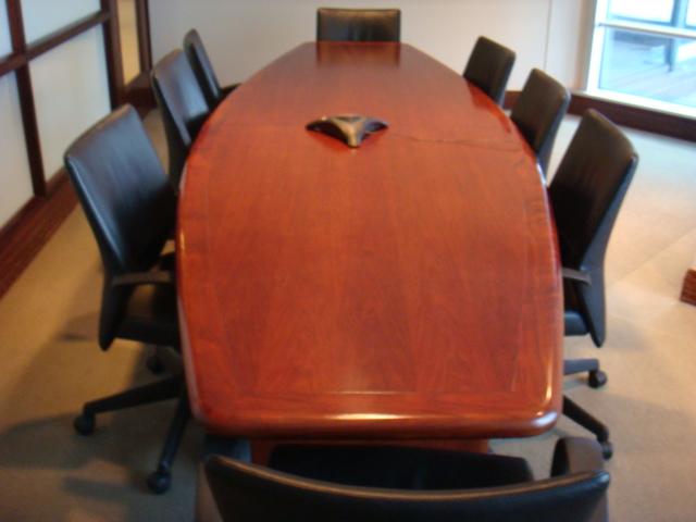 12′ X 4′ Boatshape Conference Table