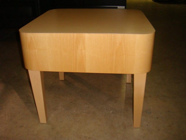 Square Maple End Table
