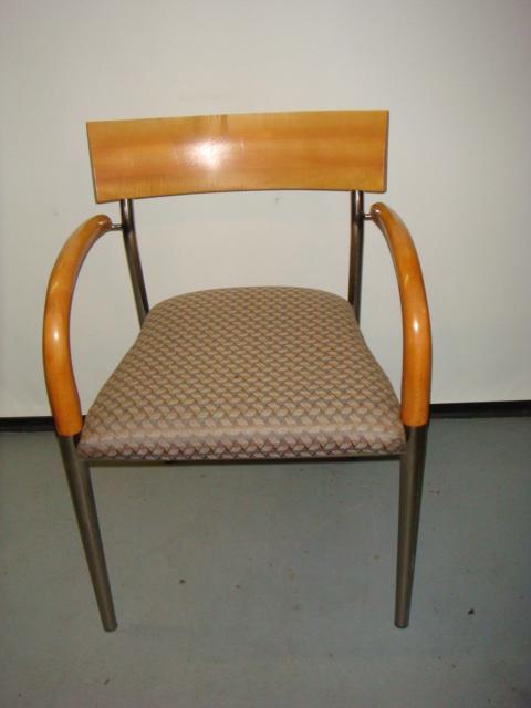 Bernhardt Maple Frame Side Chair