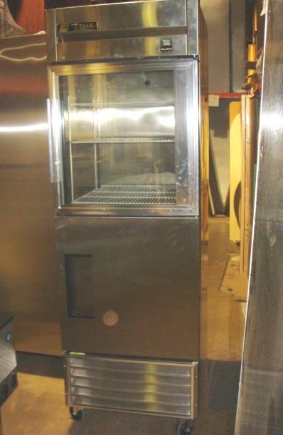TRUE Mfg. Stainless Steel Refrigerator