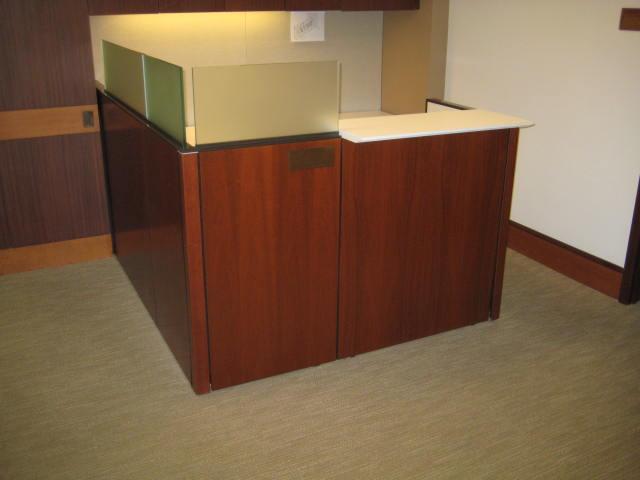 Knoll Modular Receptionist Desk