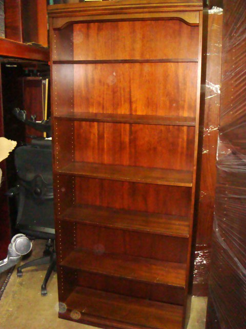 84″H Walnut Bookcases