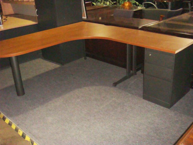 Steelcase L Shape Desk