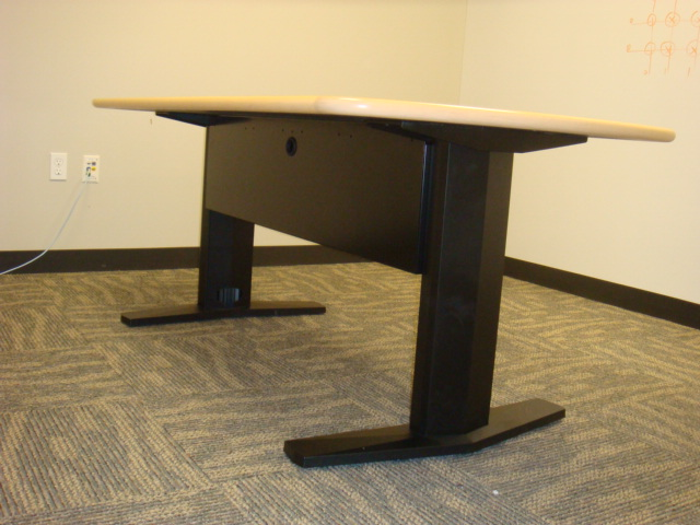 6 X 3 Maple Conference Table Used Office Furniture