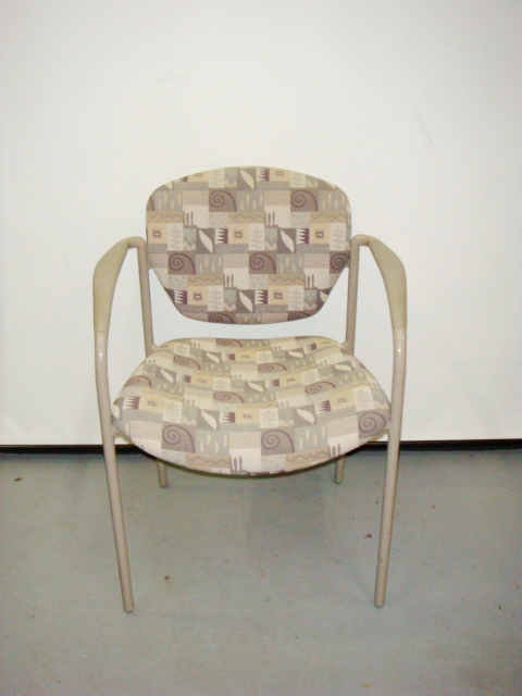 Allsteel Tolleson Stack Chairs-square Back