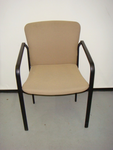 Tan Stacking Side Chairs