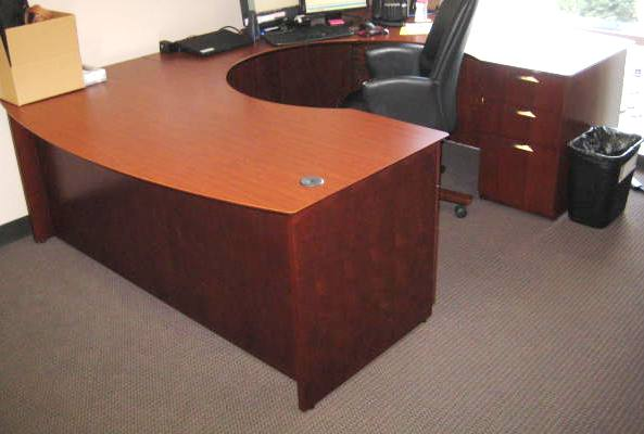 National U Shape Desk