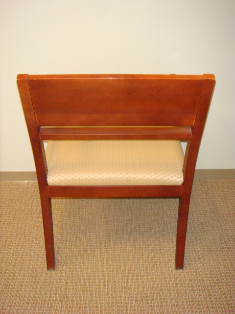 Ofs Cherry Frame Guest Chairs Used Office Furniture