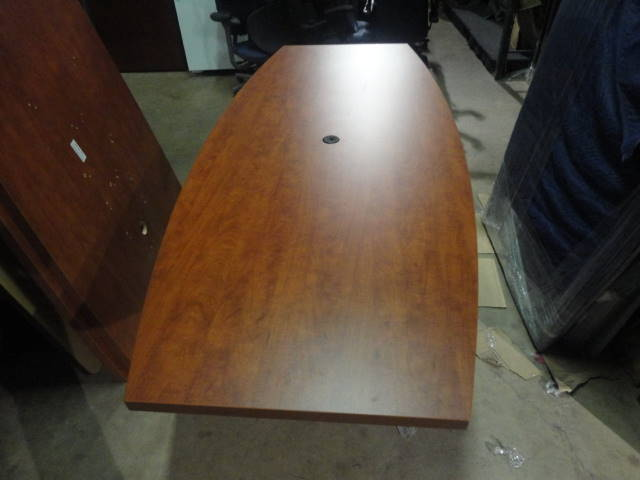 8′ X 42″ Boat Shape Conference Table