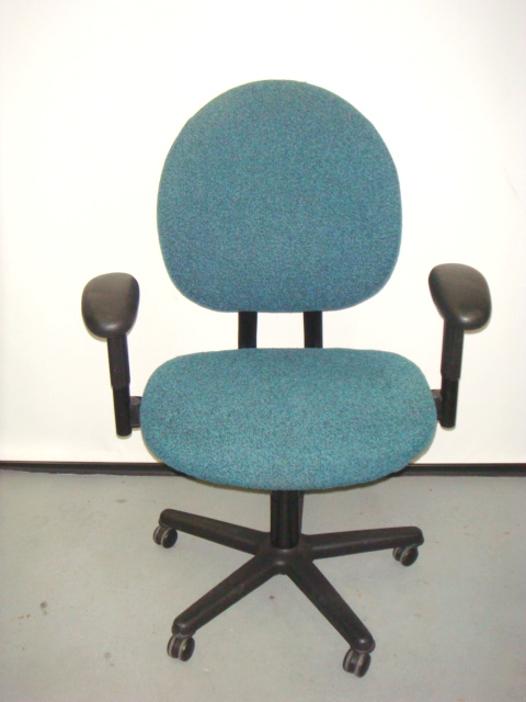 plus size criterion chair teal fabric used office