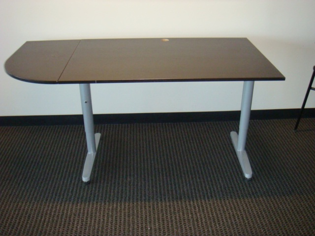 Dark Wood Laminate Training Tables