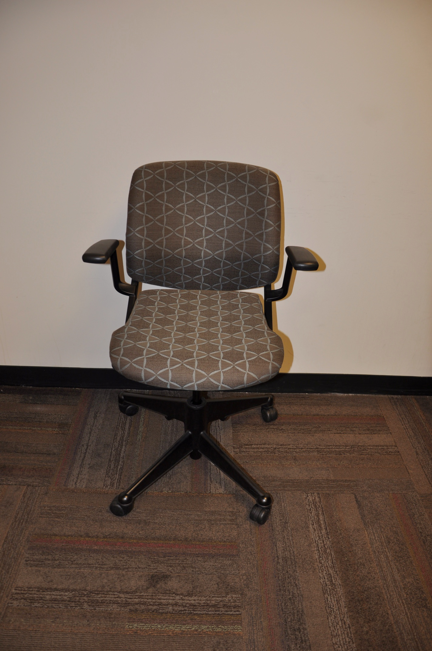 Vecta Nesting Chairs-brown Fabric