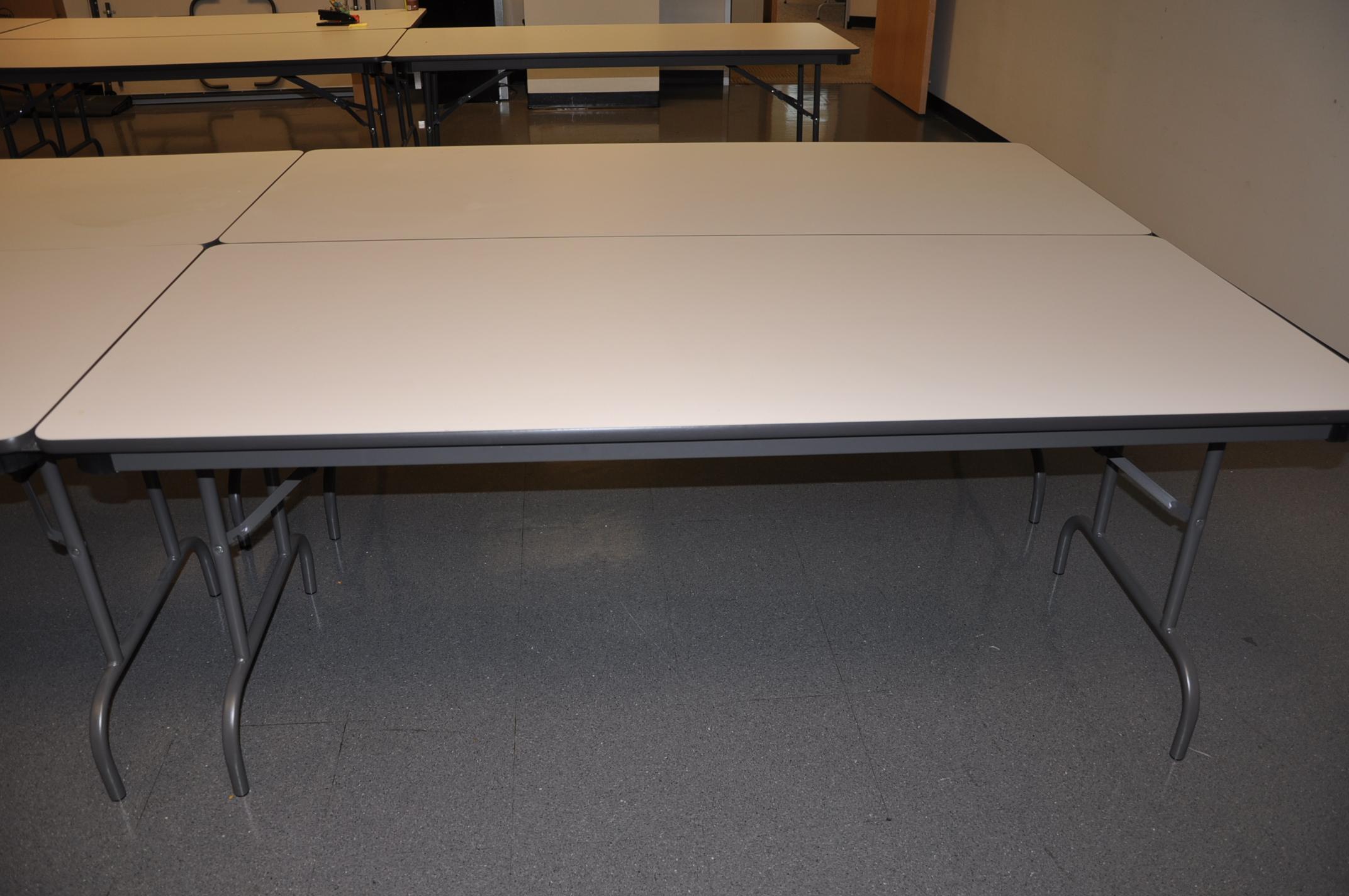 72″ X 30″ Folding Leg Tables