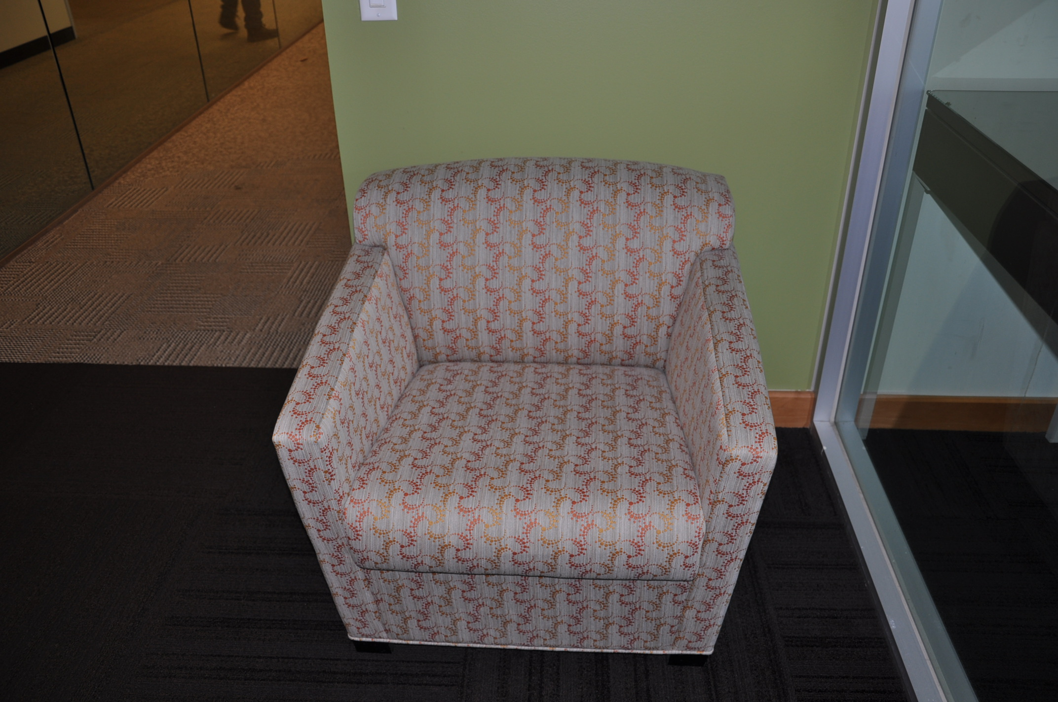 Brayton Club Chairs-gray/multi