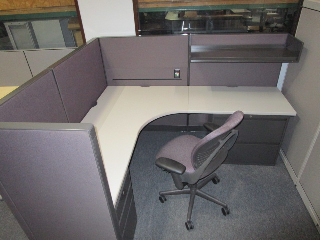 6′ X 7′ X 53″H Steelcase Enhanced Cubicles