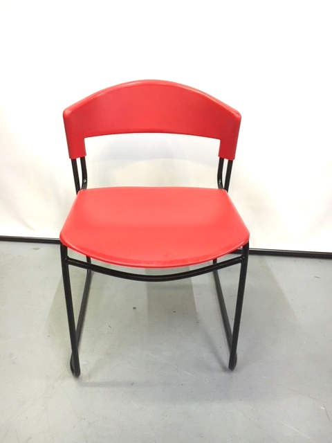Vecta Red Break Room Chairs