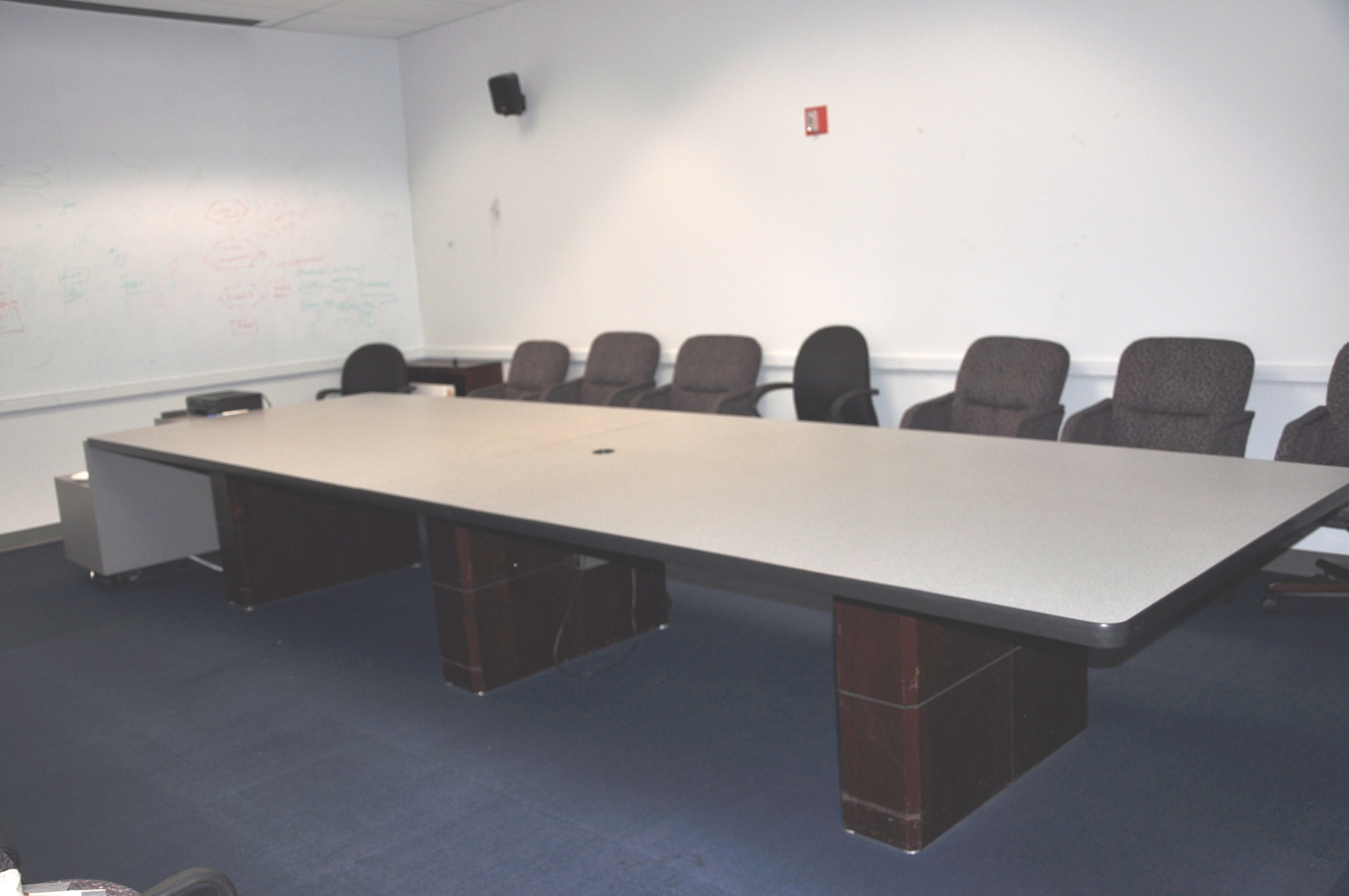 16′ X 5′ Gray Conference Table