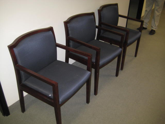 Paoli Mahogany Frame Guest Chairs