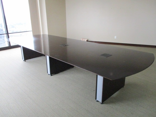 14′ X 5′ Conference Table W/power