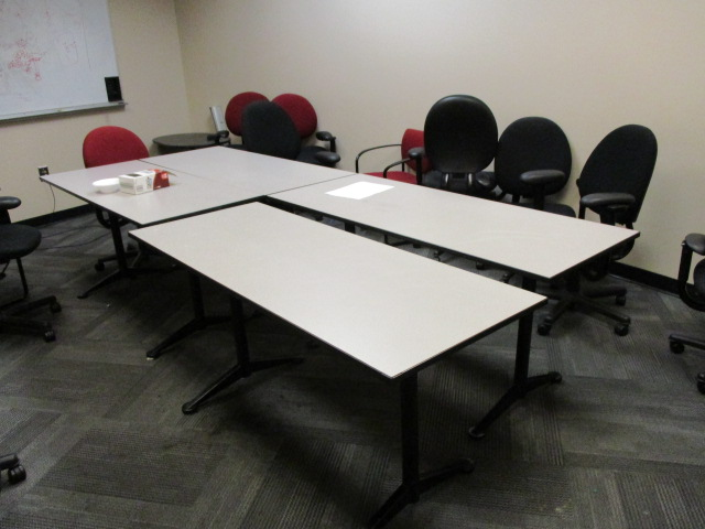 60″ X 24″ Lt. Gray Tables