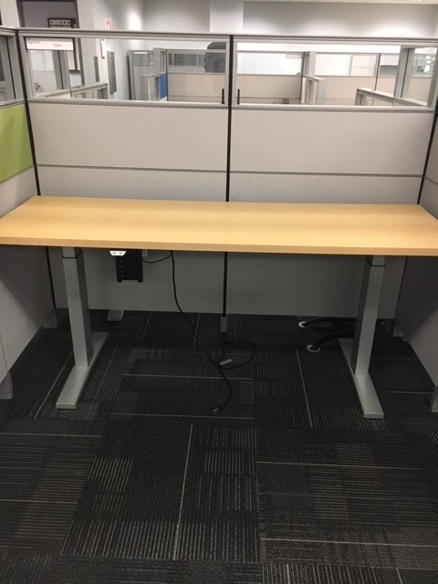 70″x 23″ Electric Sit/Stand Tables