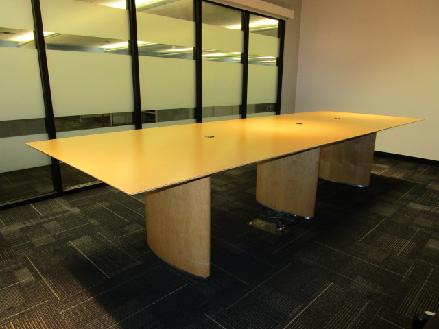 12′ X 4′ Maple Conference Table