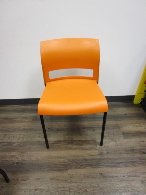 Orange Breakroom Chairs