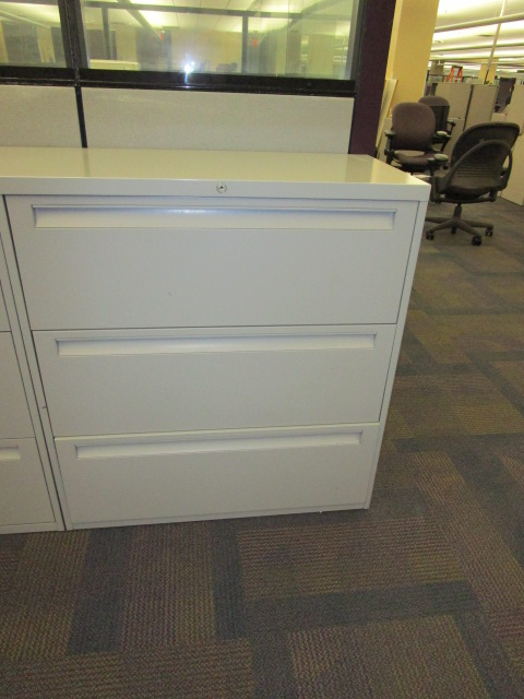 36″W 3 Drawer Laterals