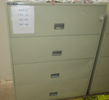 4 Drawer Lateral FIRE FILE