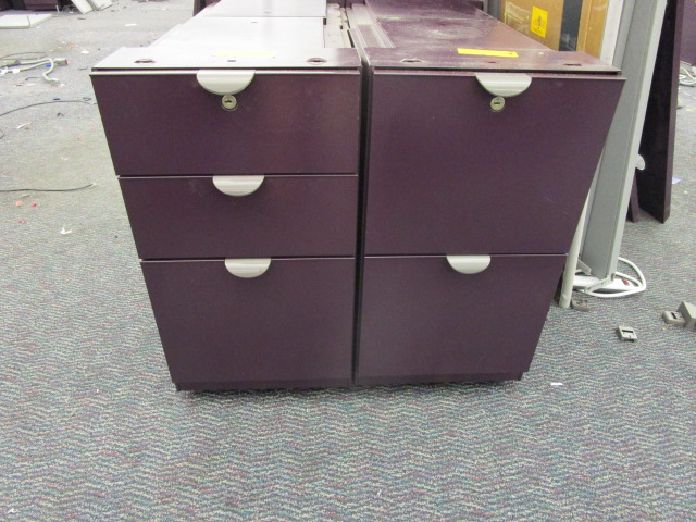 Steelcase Pedestal Drawer Sets