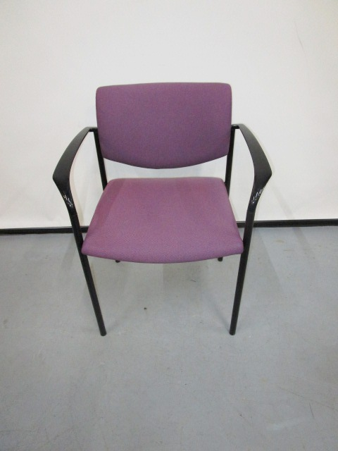 Steelcase Player Chair-purple