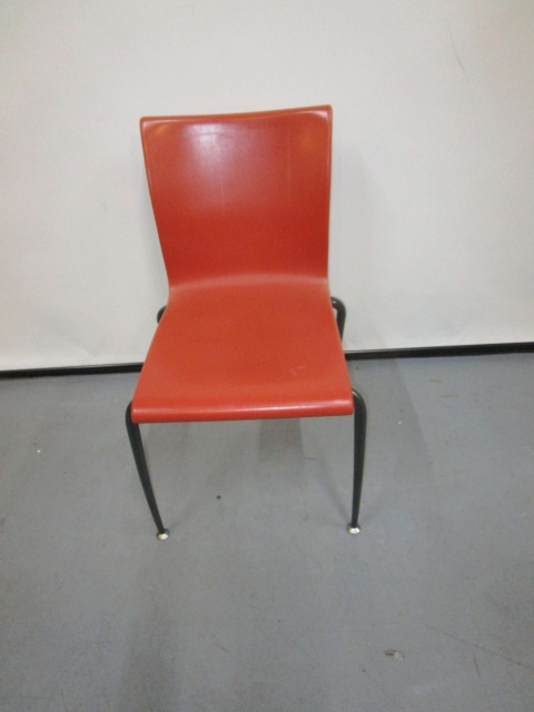 Orange Breakroom Chairs