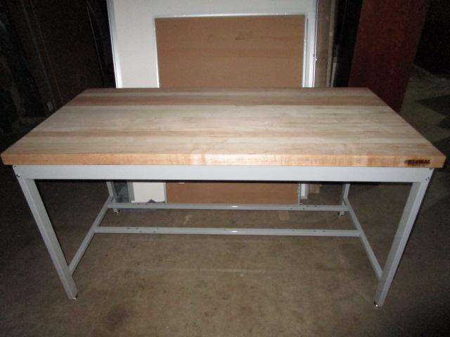 60″ X 30″ X 33″H Work Bench