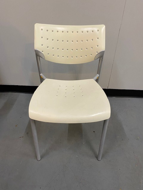 White Breakroom Chairs