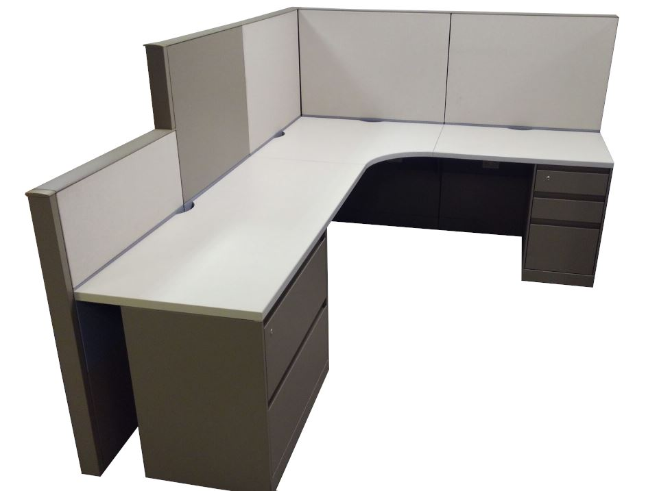 6′ X 8′ X 54″H Steelcase Answer