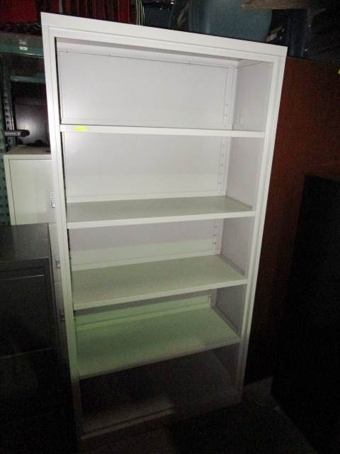 36″W Metal Bookcase