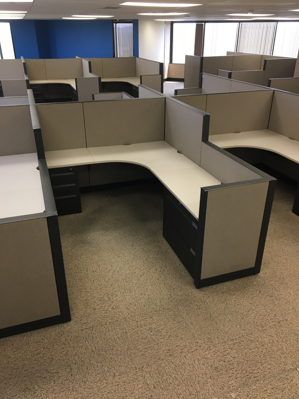 6′ X 8′ X 54″H Answer Stations