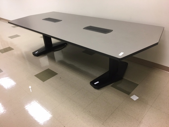 10′ X 4′ Vecta Conference Table W/power